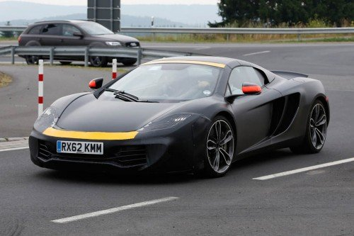 McLaren P13 Mule Spy Photos