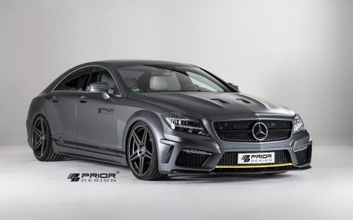 Mercedes CLS PD550 Black Edition from Prior Design