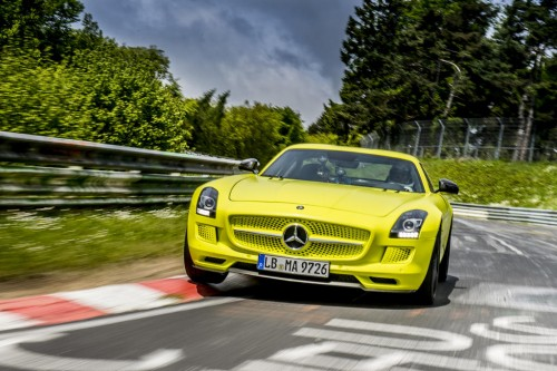 2014 SLS AMG Coupe Electric Drive Production Car