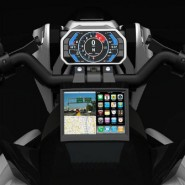 Izh-1 Motorcycle LCD 3D