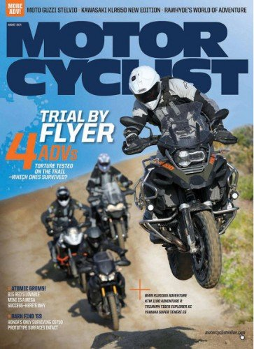 Motor Cyclist - August 2014