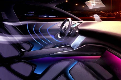 Peugeot-Citroen new cabin technology
