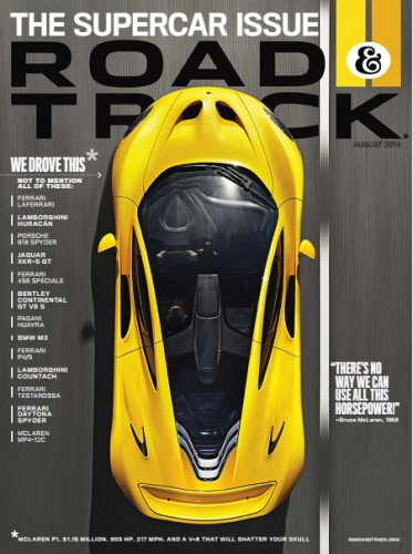 Road & Track - August 2014