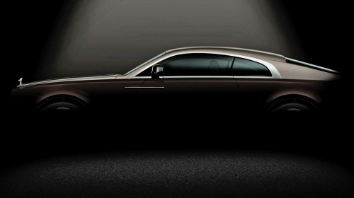 Rolls Royce Wraith: Ghost Coupe