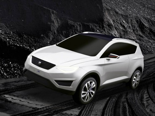 Seat ibx 2015 Crossover artist rendering