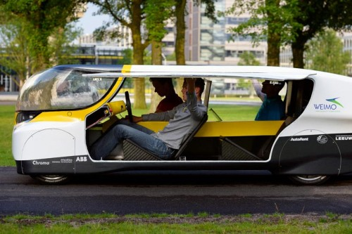 stella worlds first solar powered family car