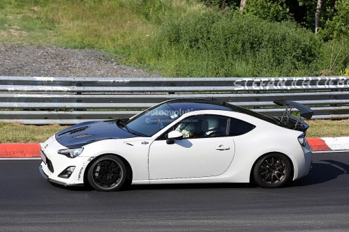 Toyota testing rc-f special edition carbon fiber gt86