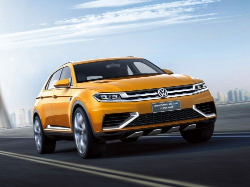 Volkswagen CrossBlue Coupe concept for Shanghai