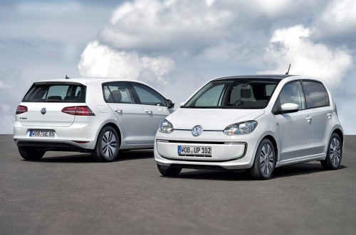 Volkswagen e-Golf and e-Up