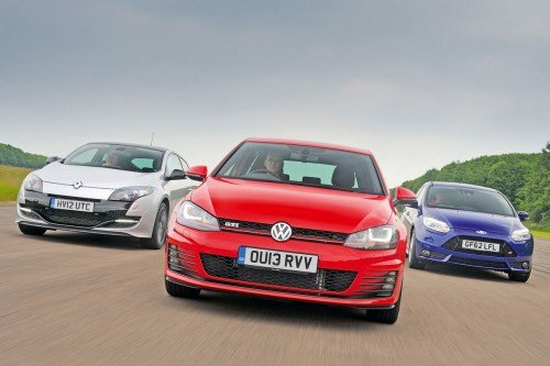 VW Golf GTI vs rivals