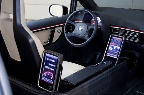 VW buggy up Interior