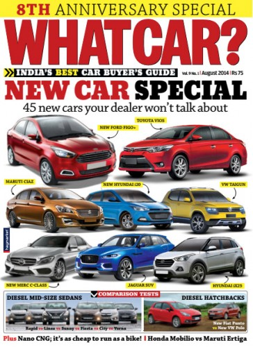 What Car India - August 2014